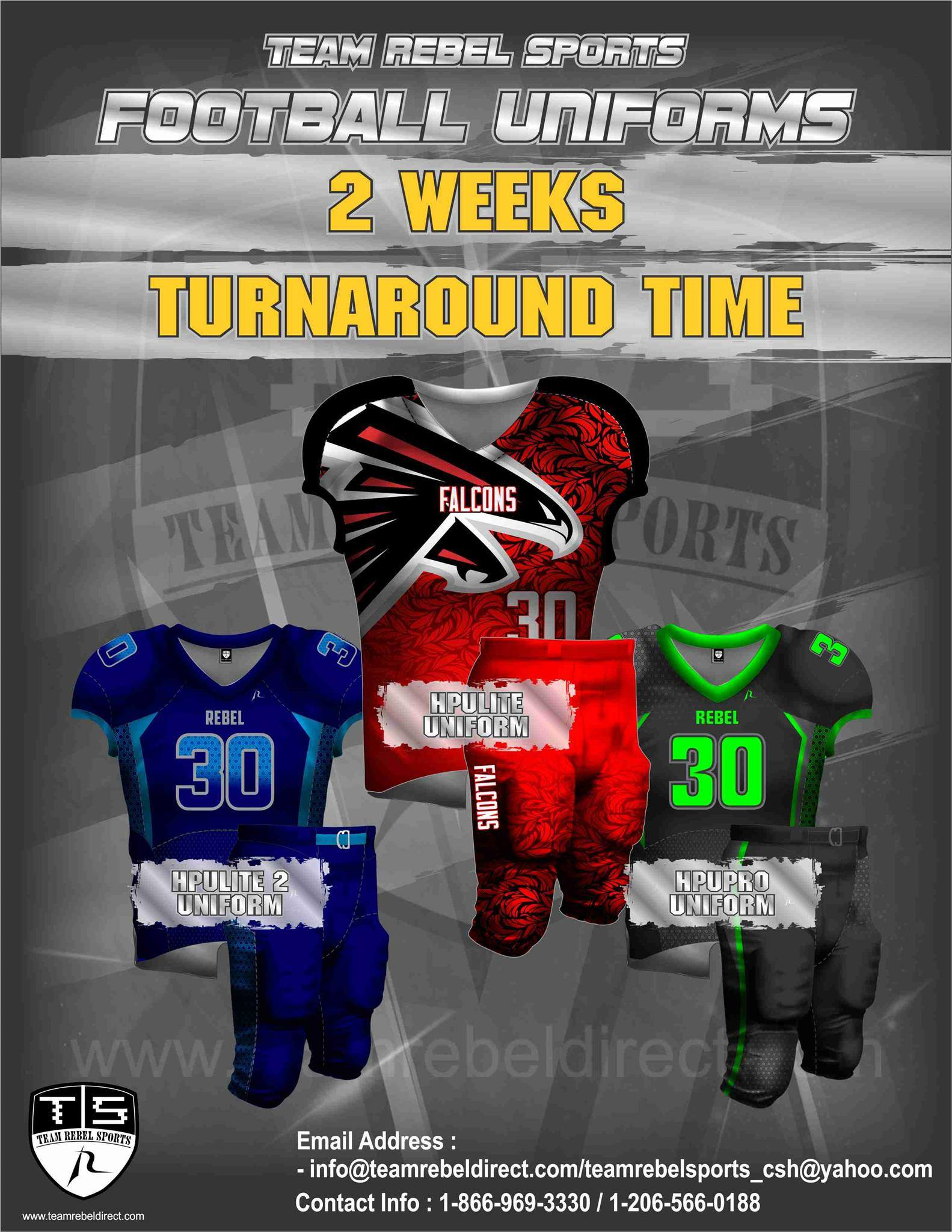 Two weeks turnaround time